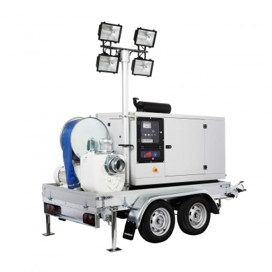 Мултифункционална моторна помпа LAMPO Emergency ELA 01 CD – за бърза реакция при природни бедствия и аварийни ситуации